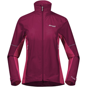 Bergans Slingsby LT Softshell Jacket Women beet red/raspberry/silver grey
